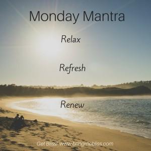 Monday Mantra R, R, R