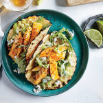 Super Easy Grilled Buffalo Chicken Tacos